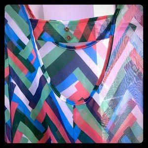 """buttons Tops - Boutique """"buttons"""" brand shirt"""